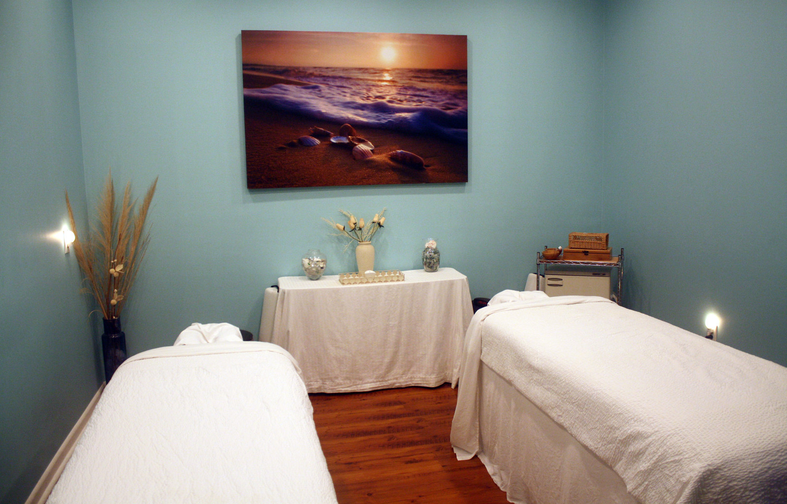Couples Massage Amenities