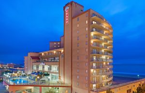 Grand Hotel Exterior Night 300x192 Things to Do in Ocean City, Maryland