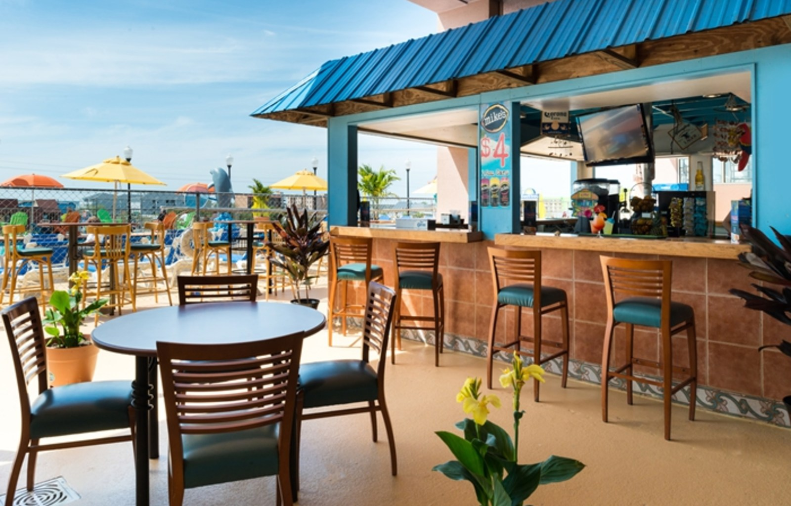 Ocean Front Dining In Ocean City Maryland