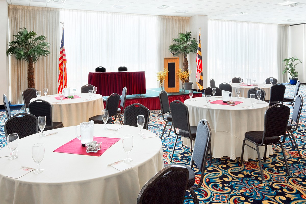 Grand Hotel Ballroom Day 1 Meetings & Events