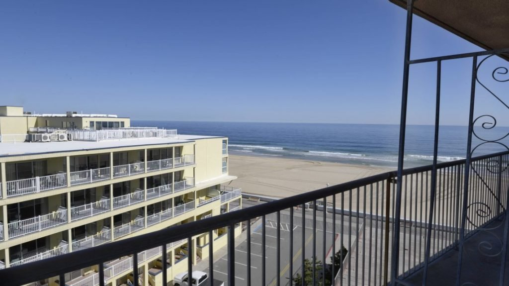 oceanside view from balcony