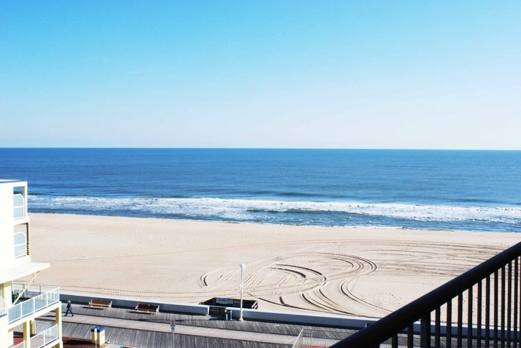 Balcony View of Ocean City at the Grand Hotel